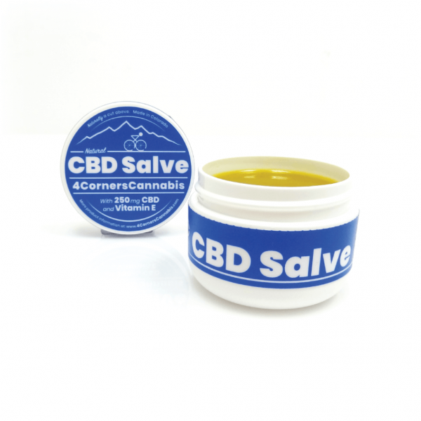 4 Corners Cannabis CBD Salve 250mg
