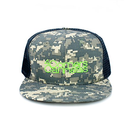 4 Corners Cannabis Merchandise Camo Hat