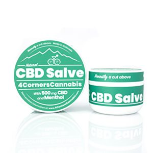 4 Corners Cannabis CBD and Menthol Salves