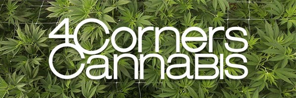 4 corners cannabis logo